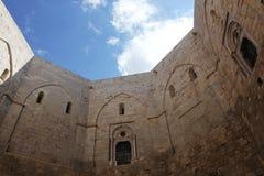 castel del意大利monte 库存图片