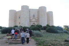 castel del意大利monte 免版税库存图片