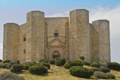 Castel del monte,看法,全景,风景, 免版税库存照片