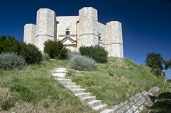 Castel del monte (Ιταλία) Στοκ εικόνα με δικαίωμα ελεύθερης χρήσης