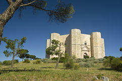 Castel del Monte ΟΥΝΕΣΚΟ Site παγκόσμια κληρονομιά (Ιταλία) Στοκ Φωτογραφίες
