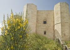Castel del monte, взгляд, панорама, ландшафт, Стоковое Изображение RF
