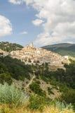 Castel del Monte, панорамный взгляд Стоковое Фото