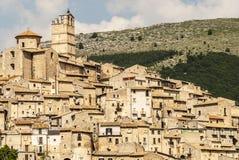 Castel del Monte, панорамный взгляд Стоковые Фотографии RF
