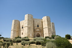 castel del monte image stock