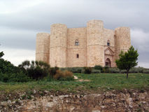 castel del monte Arkivbild