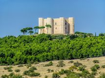 castel del monte Стоковое Изображение RF