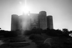 castel del monte 库存照片