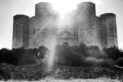 castel del monte 免版税库存图片