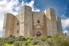 castel del monte Arkivfoton
