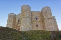 Castel del Monte, Andria, гора замка Стоковое Изображение RF