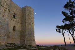 Castel del Monte Andria, slottberg Royaltyfri Fotografi
