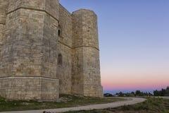 Castel del Monte Andria, slottberg Royaltyfria Foton