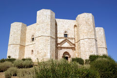 Castel del Monte (Castle of the Mount). Castel del Monte is located on a small hill near Adria, in the province of Bari (Apulia, Italy). It was built in the 13th Royalty Free Stock Image