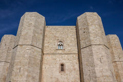 Castel Del Monte on a hilltop in Puglia. Italy Royalty Free Stock Image