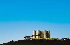 Castel del Monte in Italia Fotografia Stock Libera da Diritti
