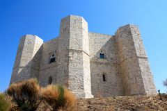 Castel del Monte, Italy royalty free stock photo
