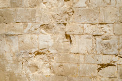 Castel del Monte, marble stone detail Royalty Free Stock Images