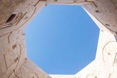 Castel del Monte in Puglia Italy Stock Images