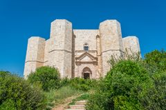 Castel del Monte, famous medieval fortress in Apulia, southern Italy. Stock Photography