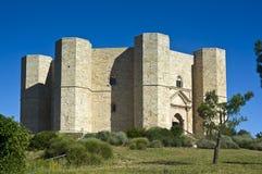 Castel del Monte UNESCO Site世界遗产名录(安德里亚它 免版税库存照片