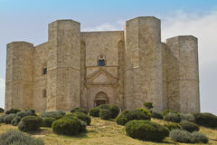 Castel del monte ,view, panorama,landscape, Royalty Free Stock Photos