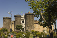 Castel dell'Ovo,那不勒斯 免版税库存图片