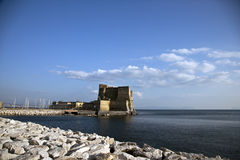 Castel dell'ovo stock image