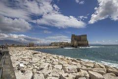 Castel dell'Ovo Arkivbild