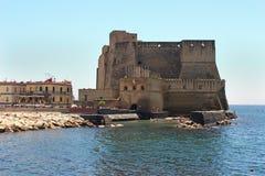 Castel dell Ovo Royaltyfria Foton