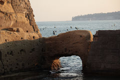 Castel Dell ' Ovo Foto de Stock Royalty Free