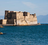 Castel dell'Ovo.  Castel dell Ovo, middle aged fortress in the B Stock Images