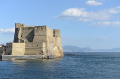 Egg Castle Castel dell`Ovo - Naples - Italy Royalty Free Stock Photography