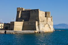 Castel dell'Ovo in Naples Stock Photos