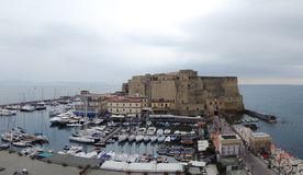 Castel dell`Ovo, Naples royalty free stock images