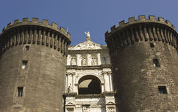 Castel dell'Ovo, Naples Stock Photos