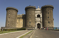 Castel dell'Ovo, Naples Stock Images