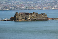 Castel dell Ovo in Naples Stock Photos