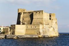 Castel dell'ovo, Naples Italien fotografering för bildbyråer