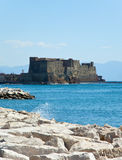Castel dell'Ovo - Naples - Italy stock image