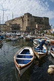 Castel dell'Ovo in Naples Stock Photography