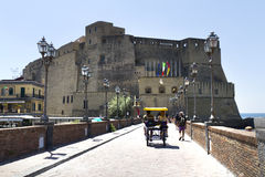 Castel dell'Ovo, Naples, Italy Stock Photography