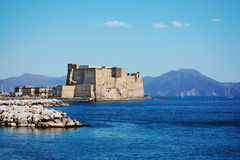 Castel dell'Ovo Royalty Free Stock Photo