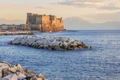 Castel dell'Ovo,Napoli,Italy Stock Image