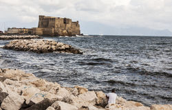 Castel dell'Ovo Royalty Free Stock Images
