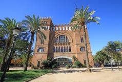 Castel-dels Tres-Drachen in Parc de la Ciutadella Barcelona, Katalonien, Spanien Lizenzfreie Stockfotos