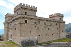 Castel di Celano Fotografie Stock