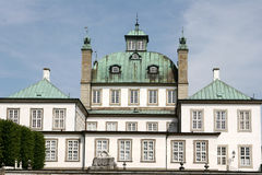 Castel di Fredensborg Fotografia Stock