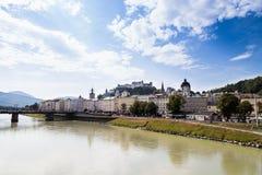 Castel di Salisburgo fotografie stock