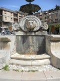 Castel di Sangro - fontaine photos libres de droits